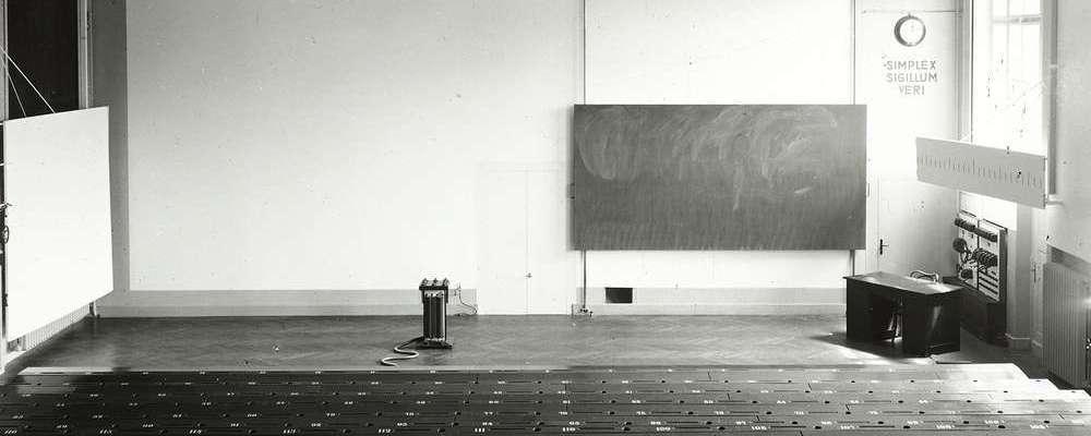Kosmos Pohl I - Der Hörsaal als Infrastruktur